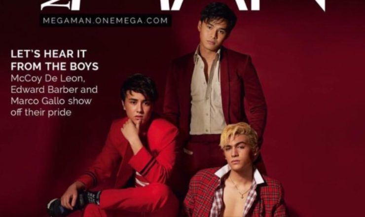 Edward Barber, McCoy De Leon, Marco Gallo for Mega Man June 2018