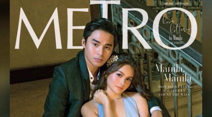 McCoy De Leon and Elisse Joson for Metro June 2018