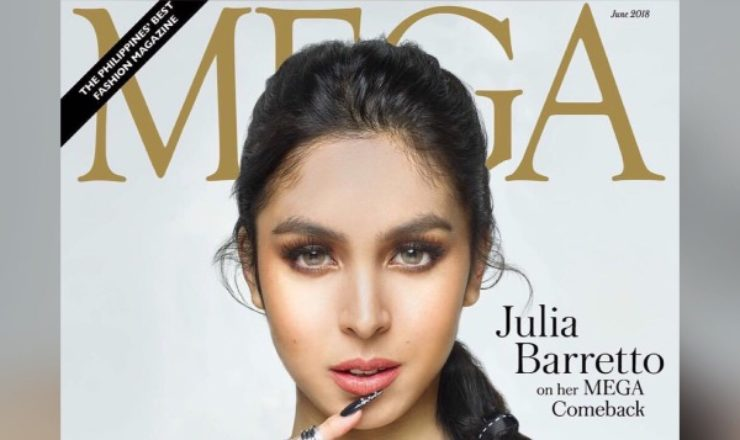 Julia Barretto for Mega June 2018