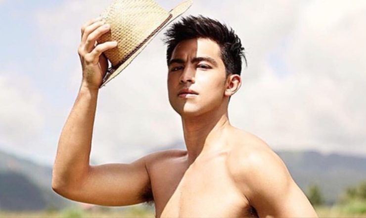 Derrick Monasterio is shirtless sexy