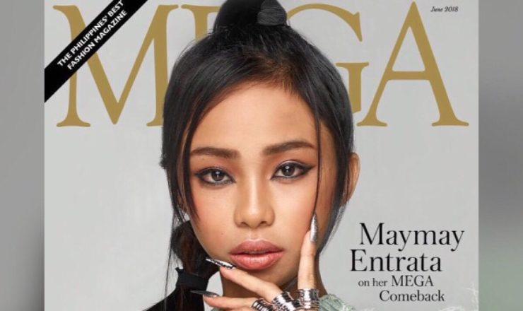 Maymay Entrata for Mega June 2018