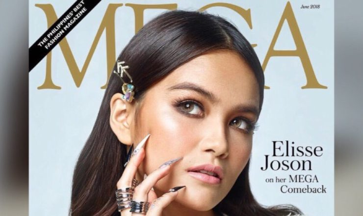Elisse Joson for Mega June 2018