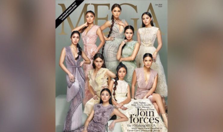 Kisses, Maymay, Julia and Nadine, among Mega June 2018 cover girls
