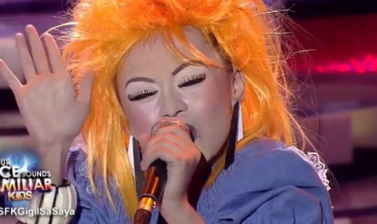 Esang De Torres makes Jed Madela cry with Cyndi Lauper performance
