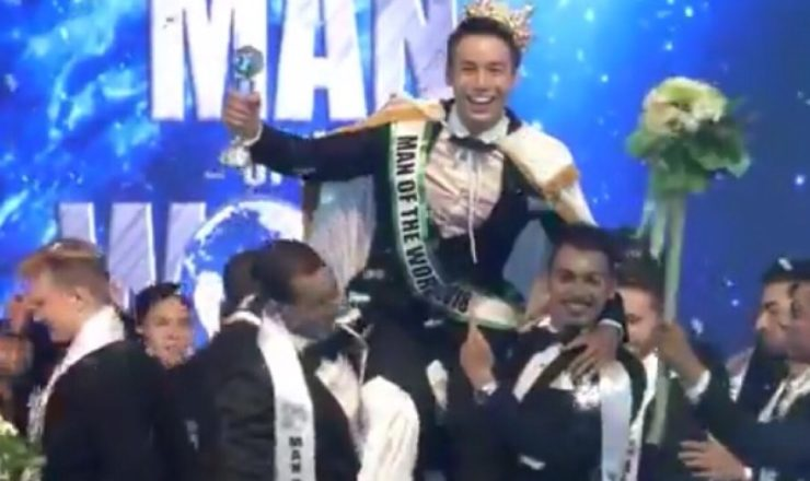 Man of the World 2018 is Cao Xuan Tai from Vietnam
