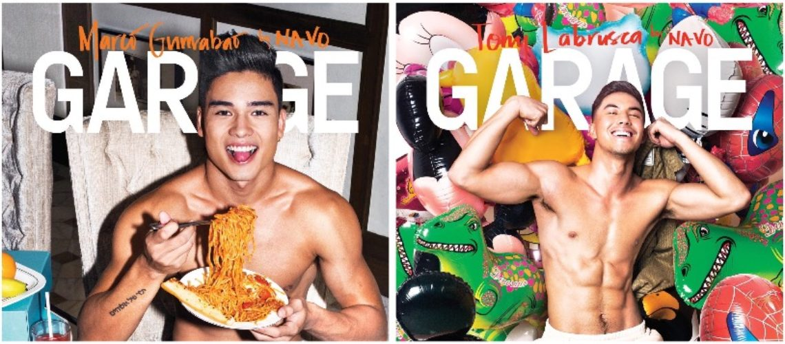 Tony Labrusca, Marco Gumabao for Garage June-July 2018