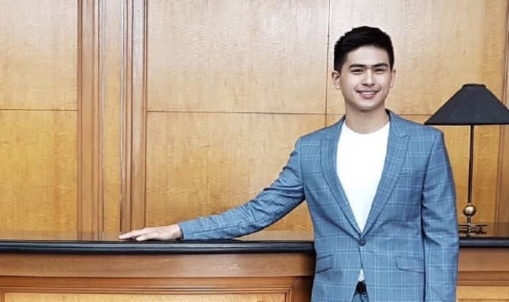 Manolo Pedrosa working on his first project as a Kapuso