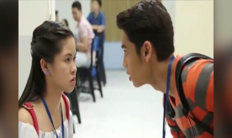Kisses Delavin and Donny Pangilinan in Playhouse teaser