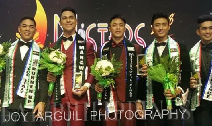 Misters of Filipinas 2018 winners named