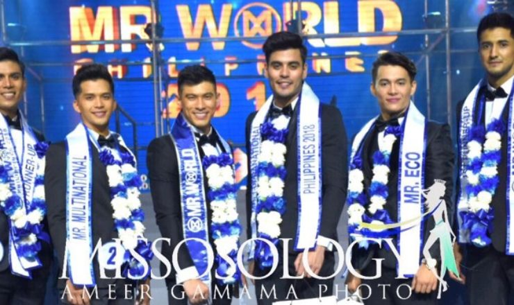 Mister World Philippines 2018 is JB Saliba