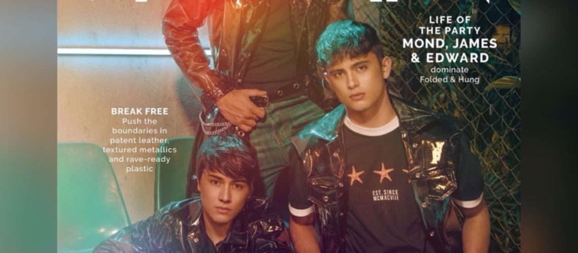 James Reid, Edward Barber, Mond Gutierrez for Mega Man November 2018