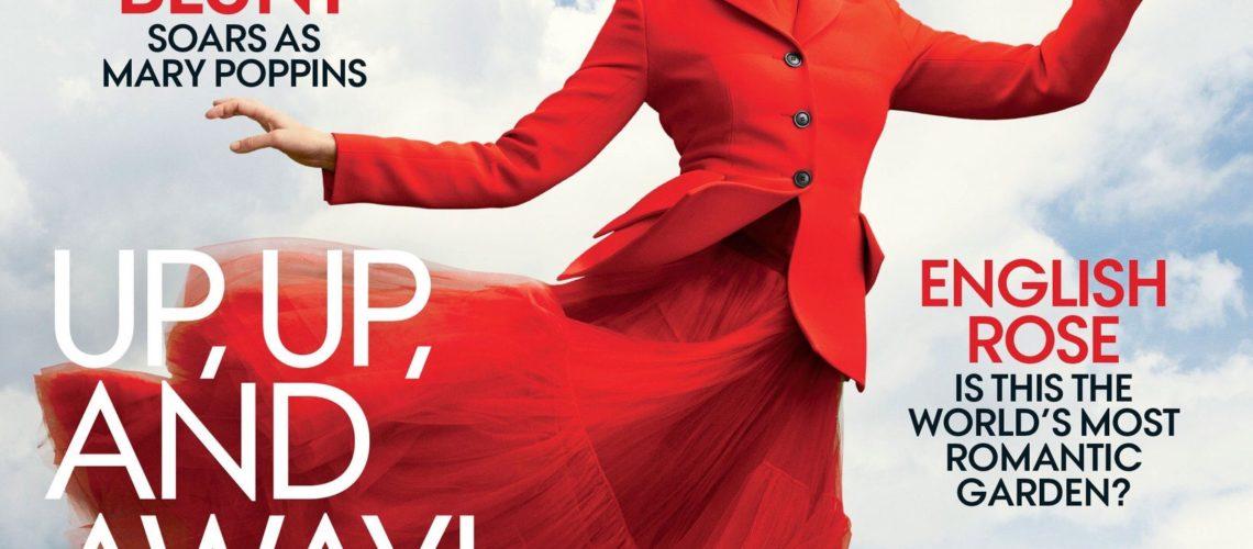Emily Blunt for Vogue December 2018