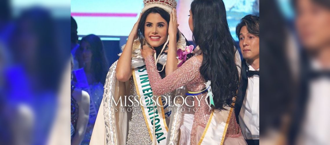 Miss International 2018 is Venezuela's Mariem Velazco