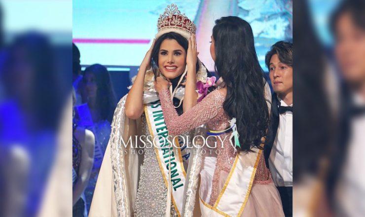 Miss International 2018 is Venezuela's Mariem Velazco