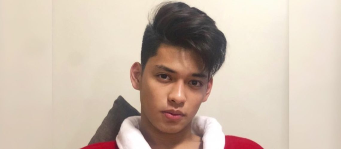 Ricci Rivero stars in his first movie, 'Otlum'