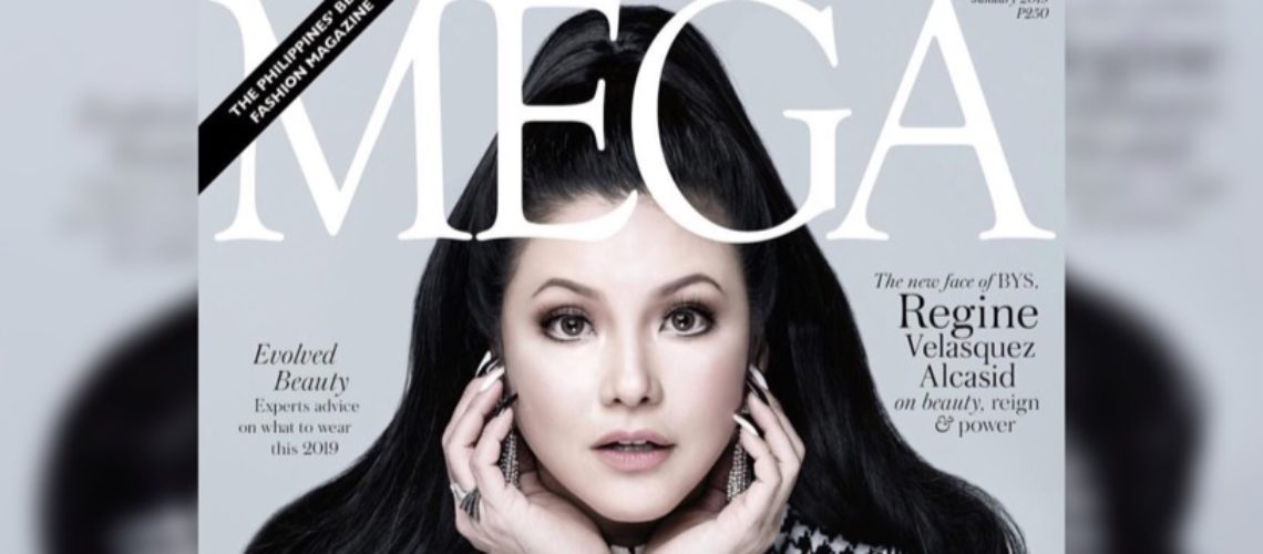 Regine Velasquez-Alcasid for Mega January 2019