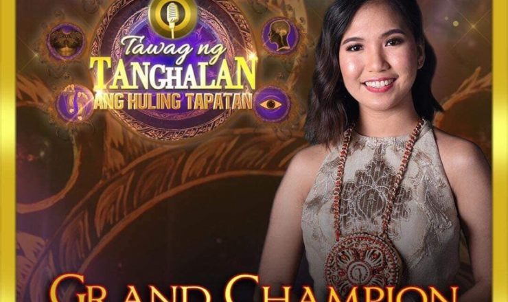 Elaine Duran wins Tawag ng Tanghalan