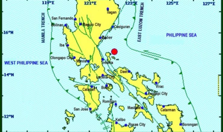 Magnitude 5.3 earthquake rocks Quezon