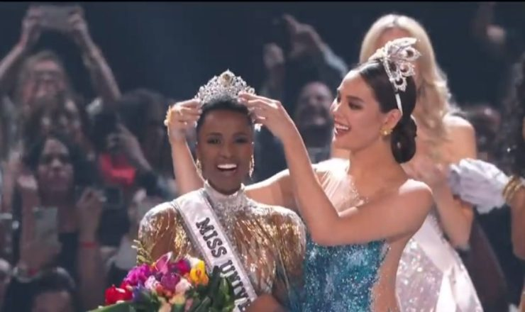 South Africa's Zozibini Tunzi wins Miss Universe 2019