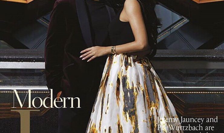 Pia Wurtzbach and Jeremy Jauncey for Philippine Tatler