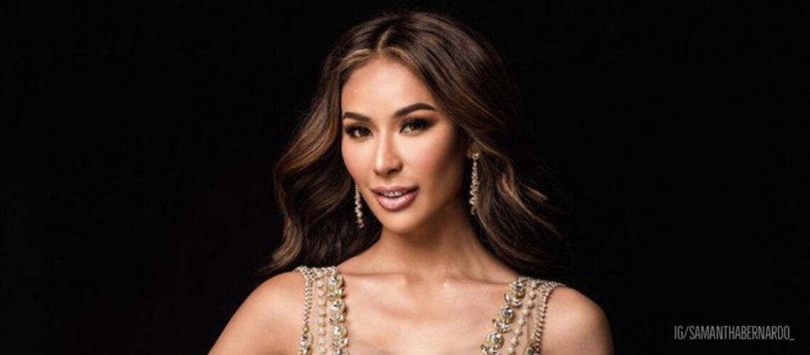 Samantha Bernardo is Miss Grand International 2020 1st runner-up