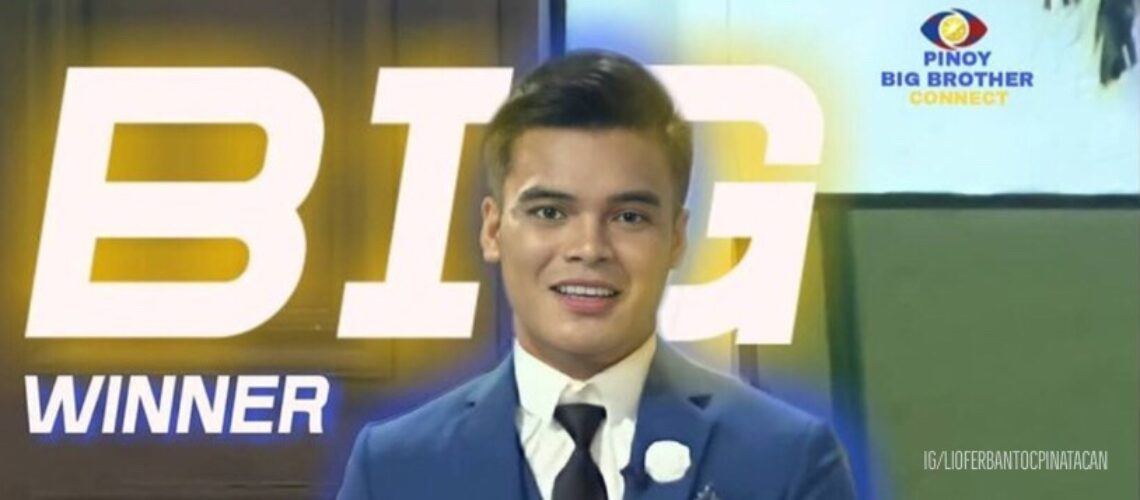Liofer Pinatacan wins Pinoy Big Brother: Connect