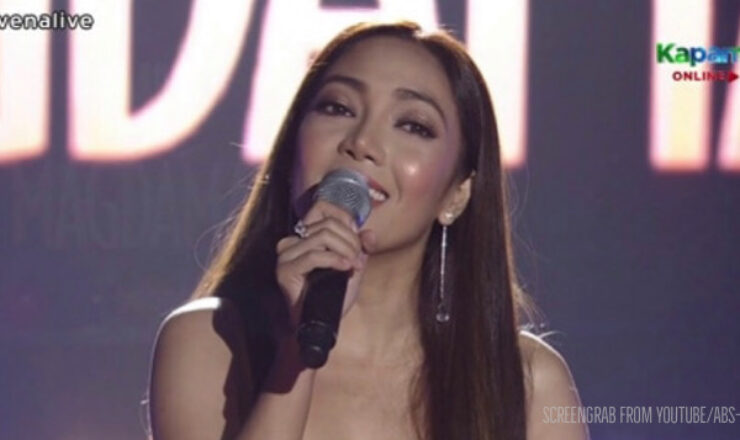 Jona sings 'Init sa Magdamag' theme song