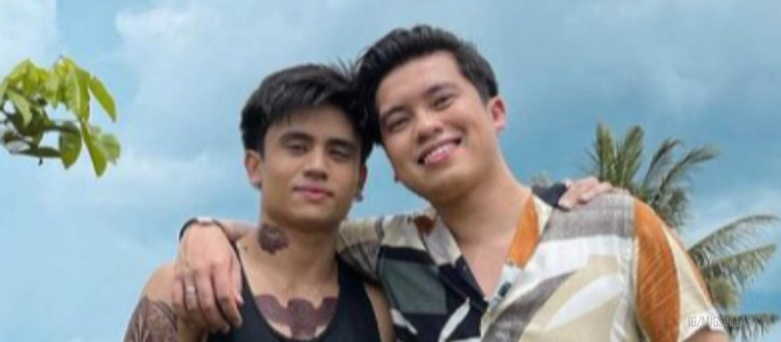 """Migs Villasis and Kimpoy Feliciano star in BL short film """"Love While You Can"""""""