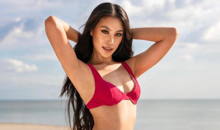 Dindi Pajares places 1st runner-up in Miss Supranational 2021's Miss Elegance competition