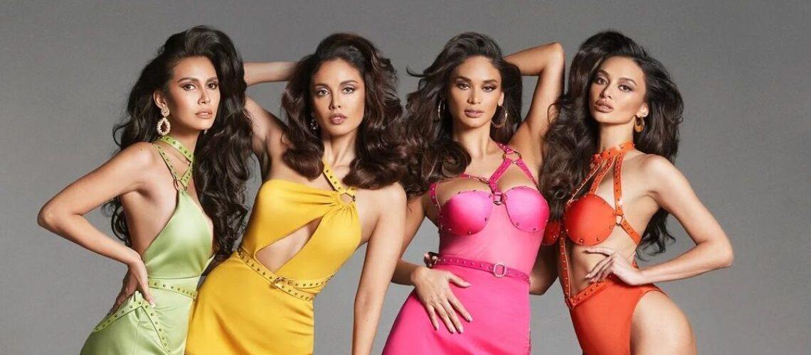Filipino beauty queens for Harper's Bazaar Vietnam