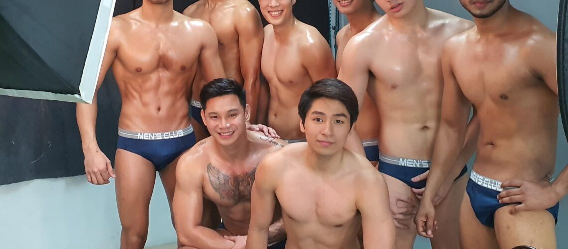 Misters of Filipinas 2021 contestants for Men's Club by Avon